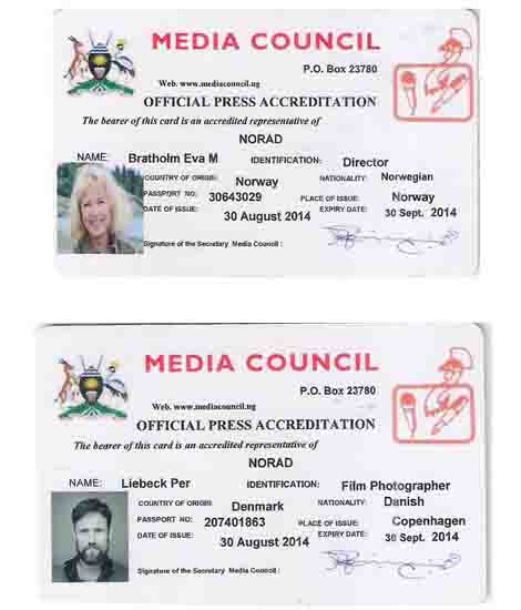 Press Accreditation in Uganda